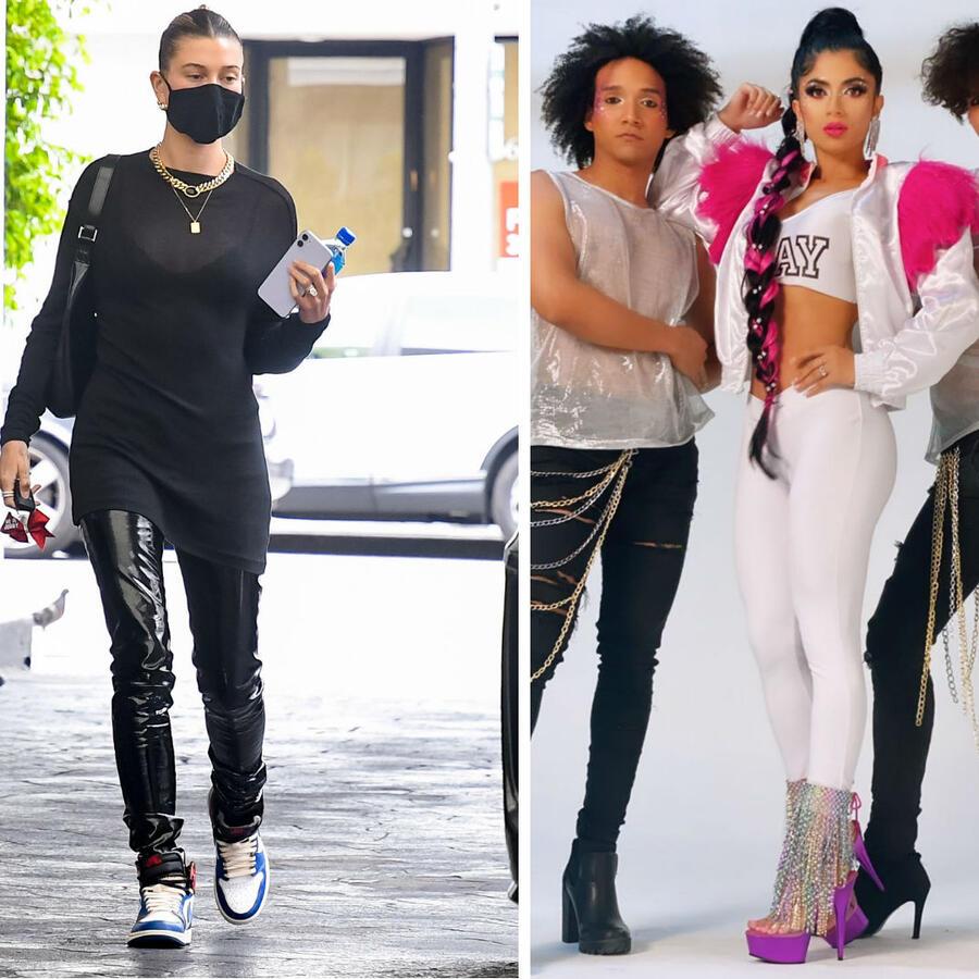 Hailey Baldwin, Kimberly Flores y Ana Bárbara