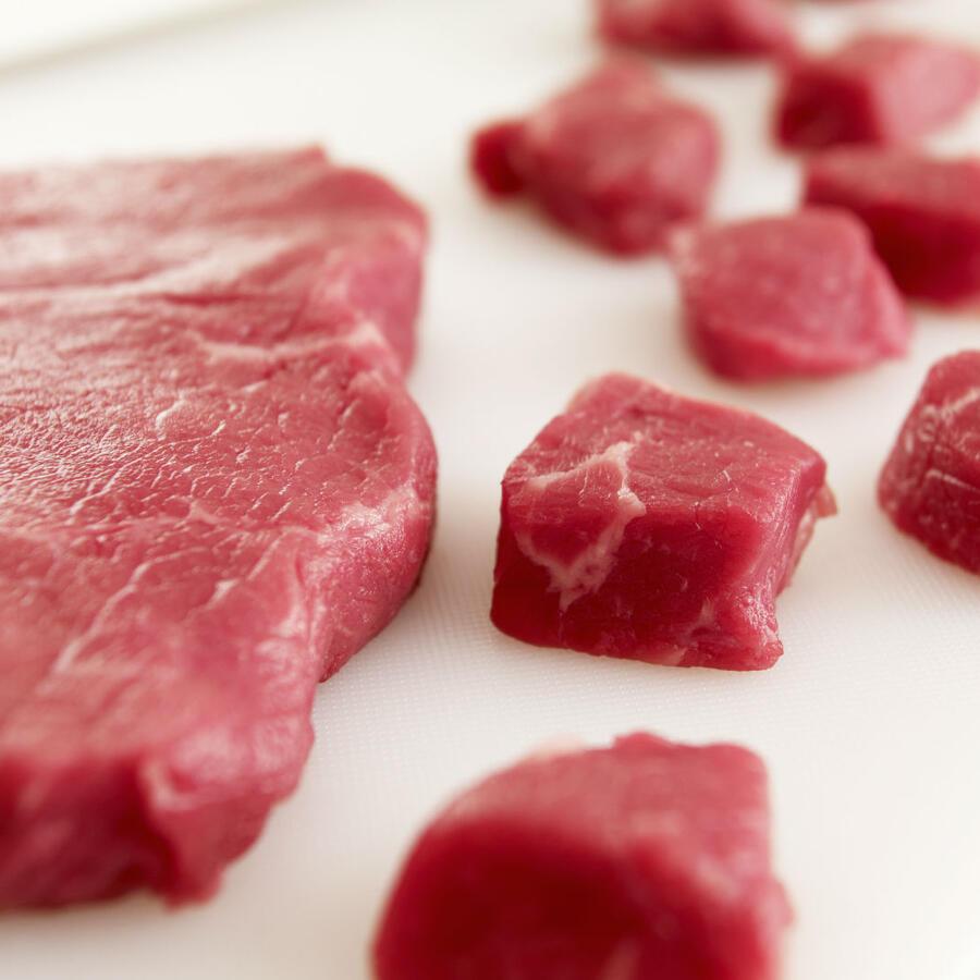 Carne de cerdo en trozos