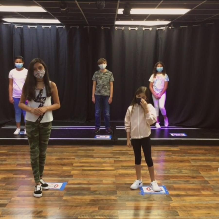 Clases de baile en Campamento de Verano de Un Nuevo Día
