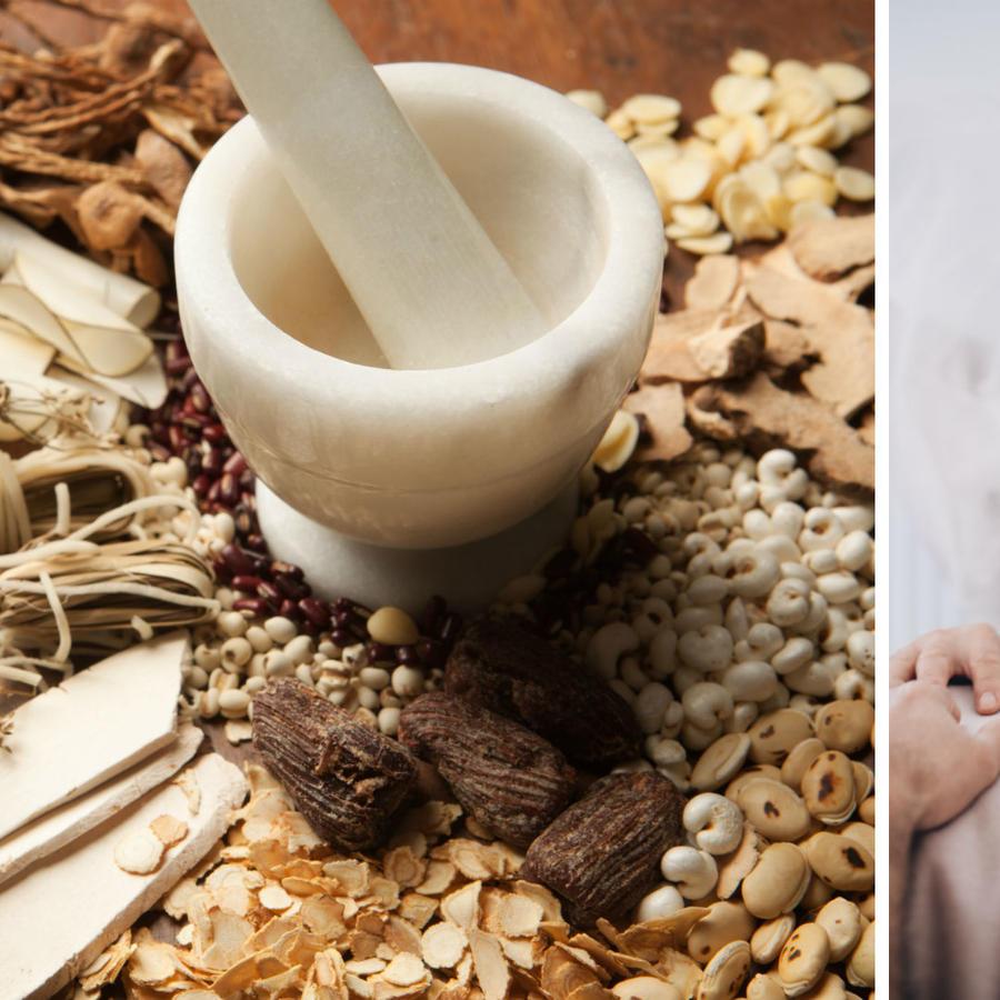 Medicina china y paciente con COVID-19