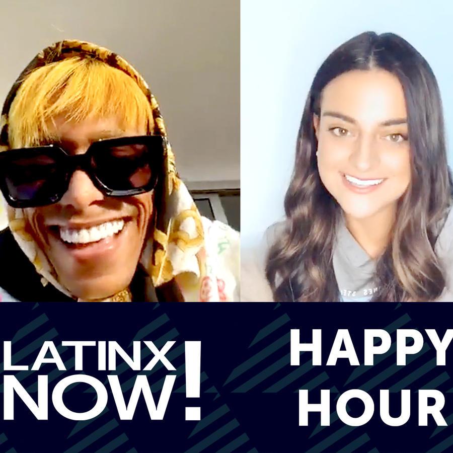 Lalo Ebratt, Alix Aspe, Latinx Now!, happy hour