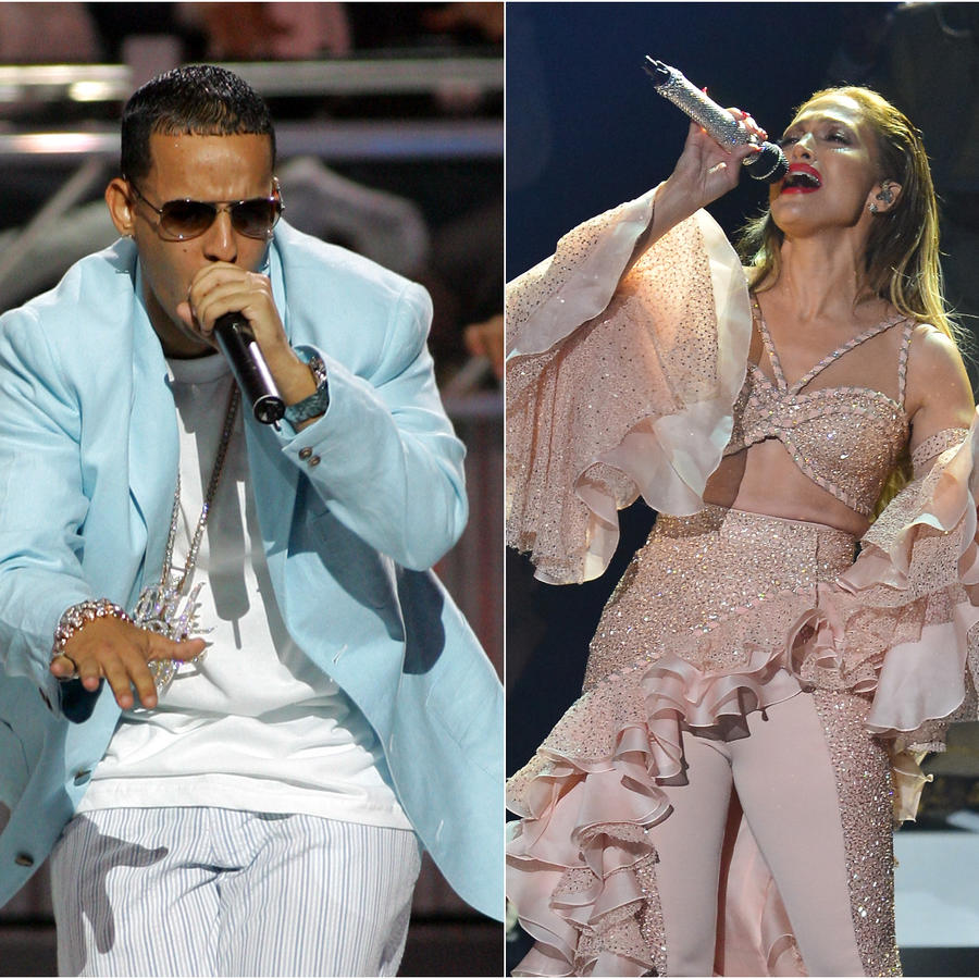 Paulina Rubio, Daddy Yankee y Jennifer Lopez en los Latin Billboard