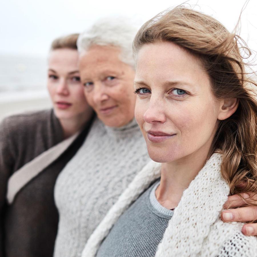 Mujeres de diferentes edades