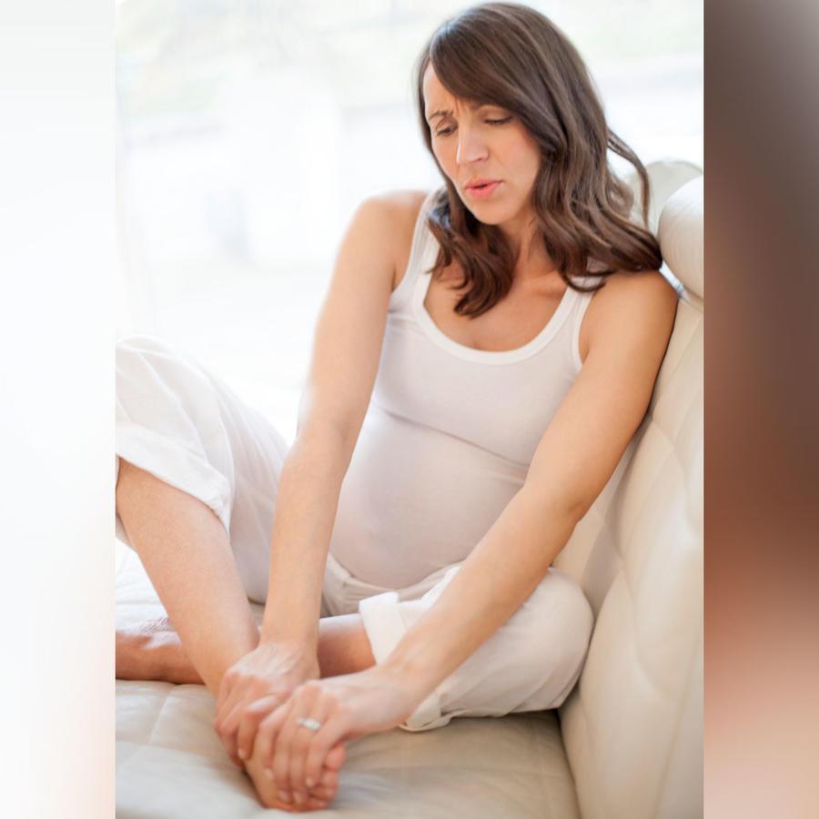 Embarazada pies