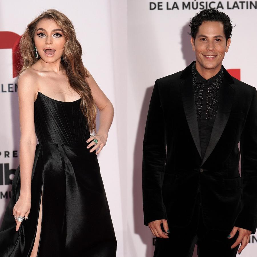 Sofía Castro, Christian Chávez y Gaby Espino en Premios Billboard 2020