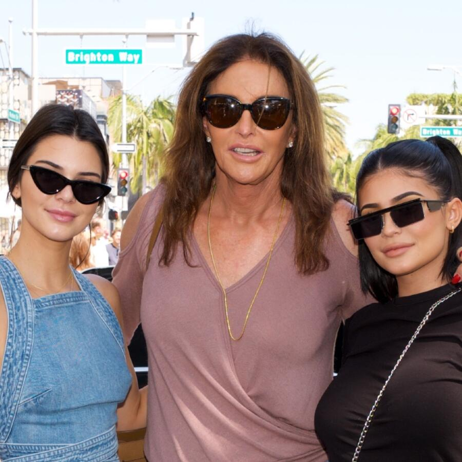 Caitlyn, Kendall y Kylie Jenner