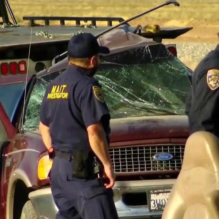 Accidente automovilístico en Imperial, California