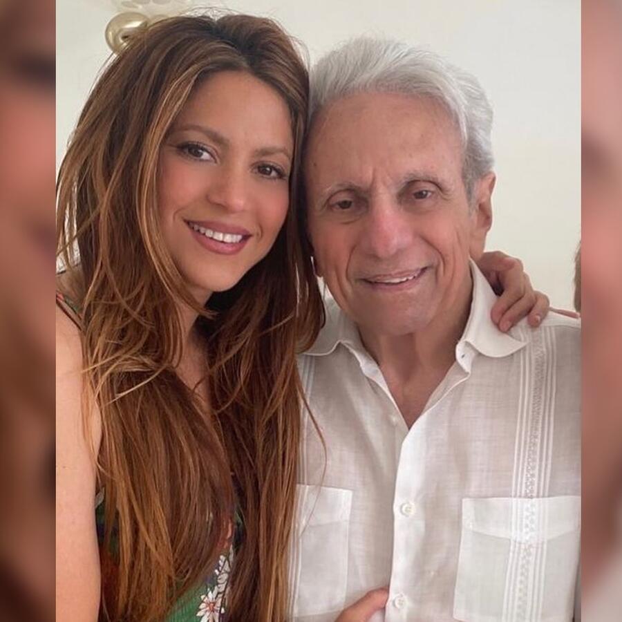Shakira emociona a sus fans bailando con su papá, William Mebarak
