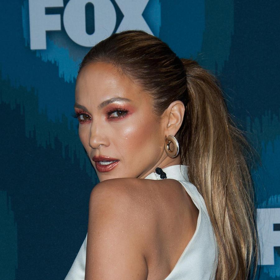 Jennifer Lopez en la fiesta de Fox All-Star
