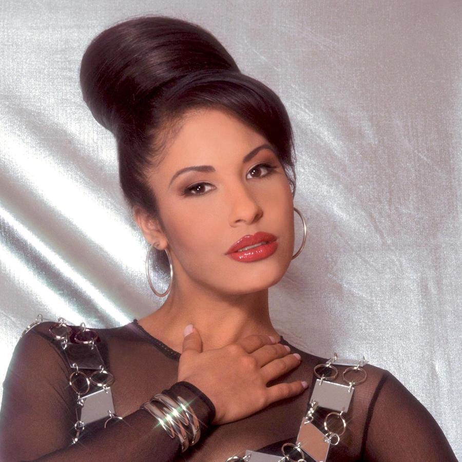 Portada del disco de Selena titulado La Leyenda