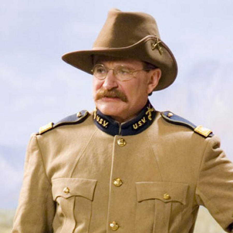 "Robin Williams en ""Night at the Museum""."