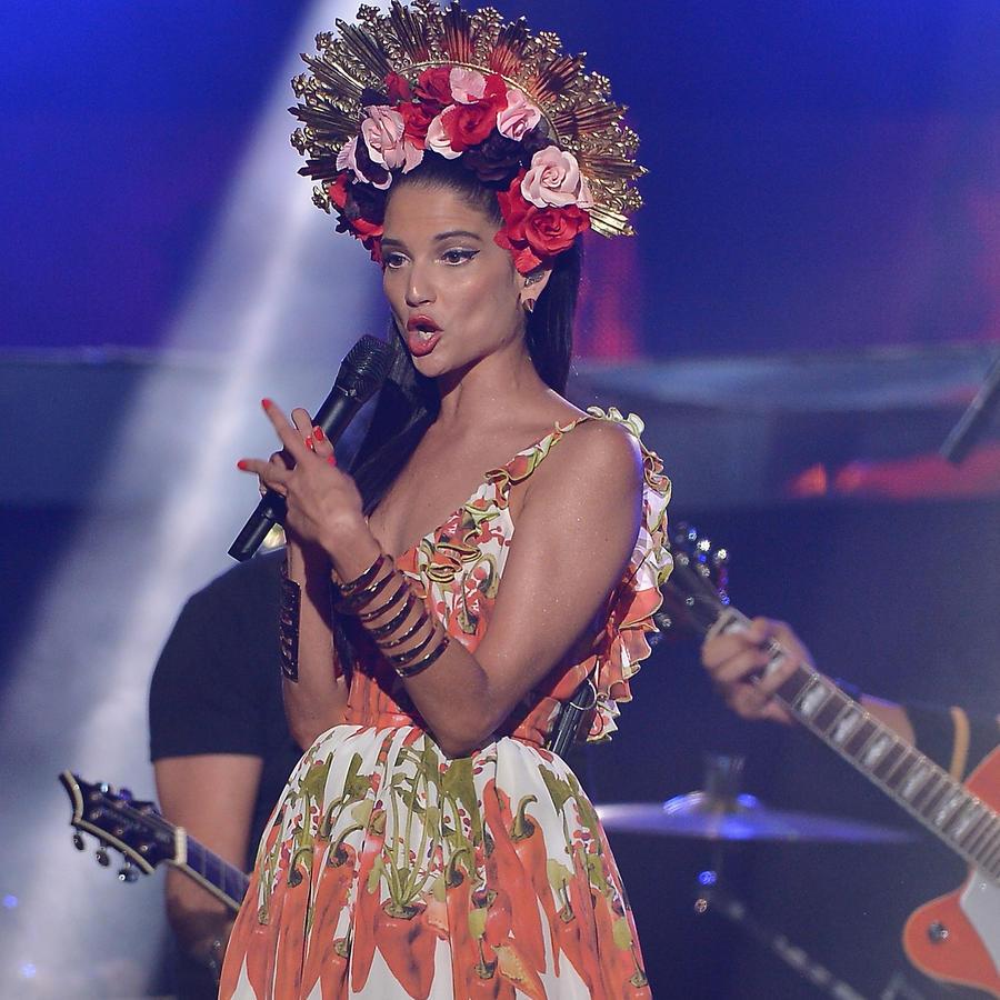 Natalia Jimenez en los premios Billboard 2015