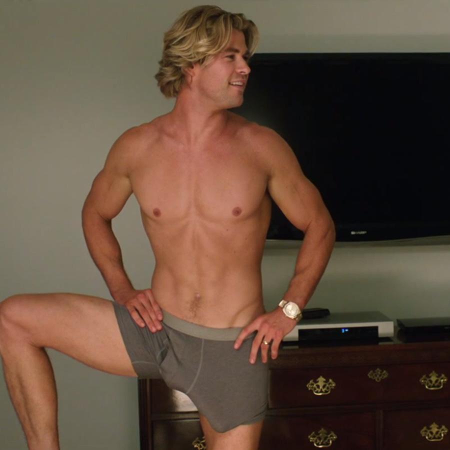 """Chris Hemsworth en el nuevo tráiler de """"Vacation""""."""
