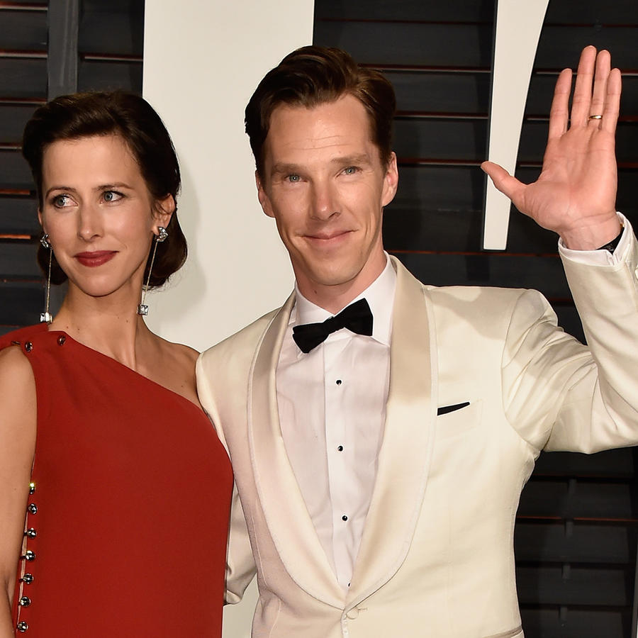 Sophie Hunter y Benedict Cumberbatch.
