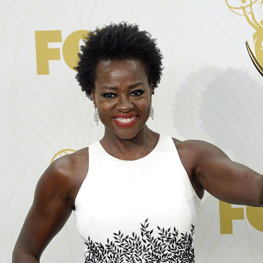 Viola Davis en los premios Emmy.