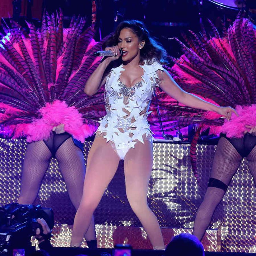 Jennifer Lopez at iHeartRadio Fiesta Latina 2015
