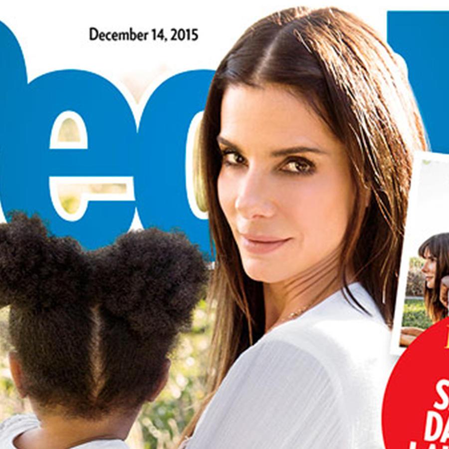 Sandra Bullock adopta a niña de 3 años