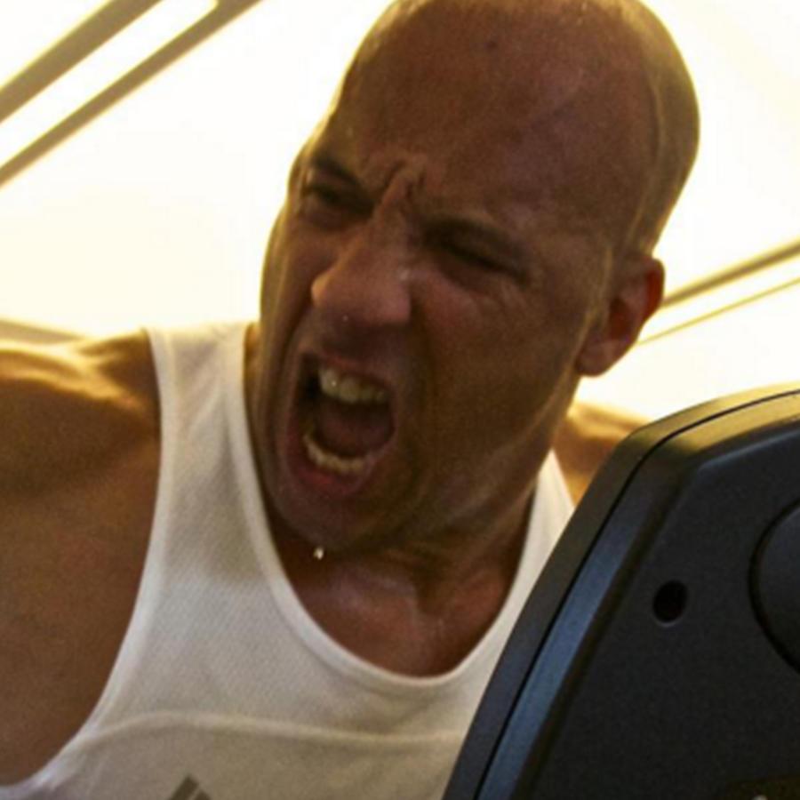 Vin Diesel muestra su rutina de ejercicio en Instagram