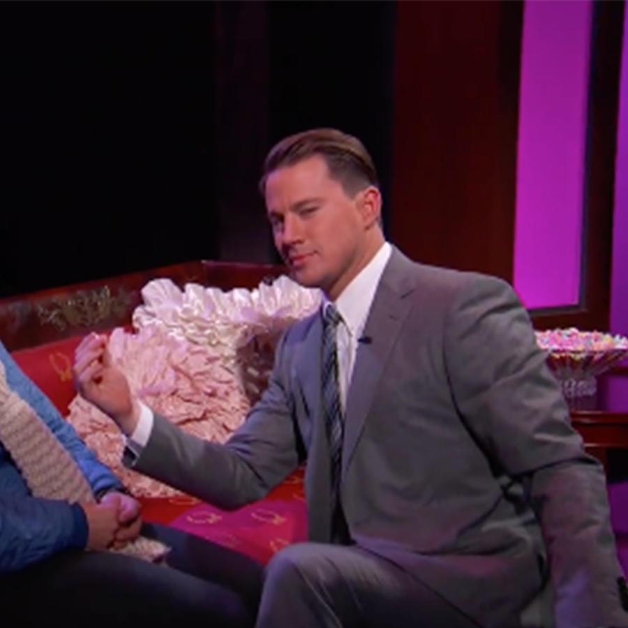 Channing Tatum en el programa de Jimmy Kimmel