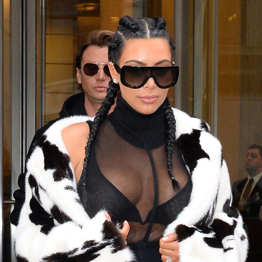 Kim Kardashian en Soho, Nueva York