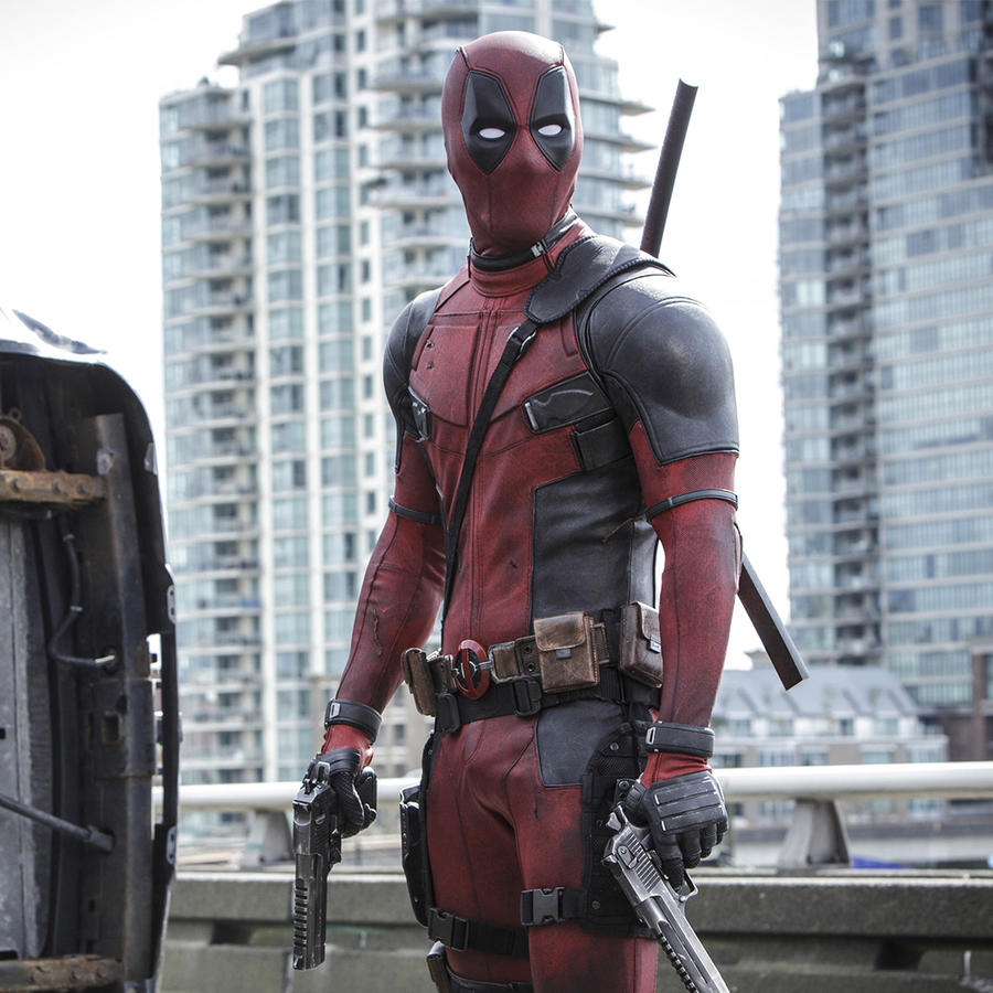 "Ryan Reynolds en ""Deadpool"""