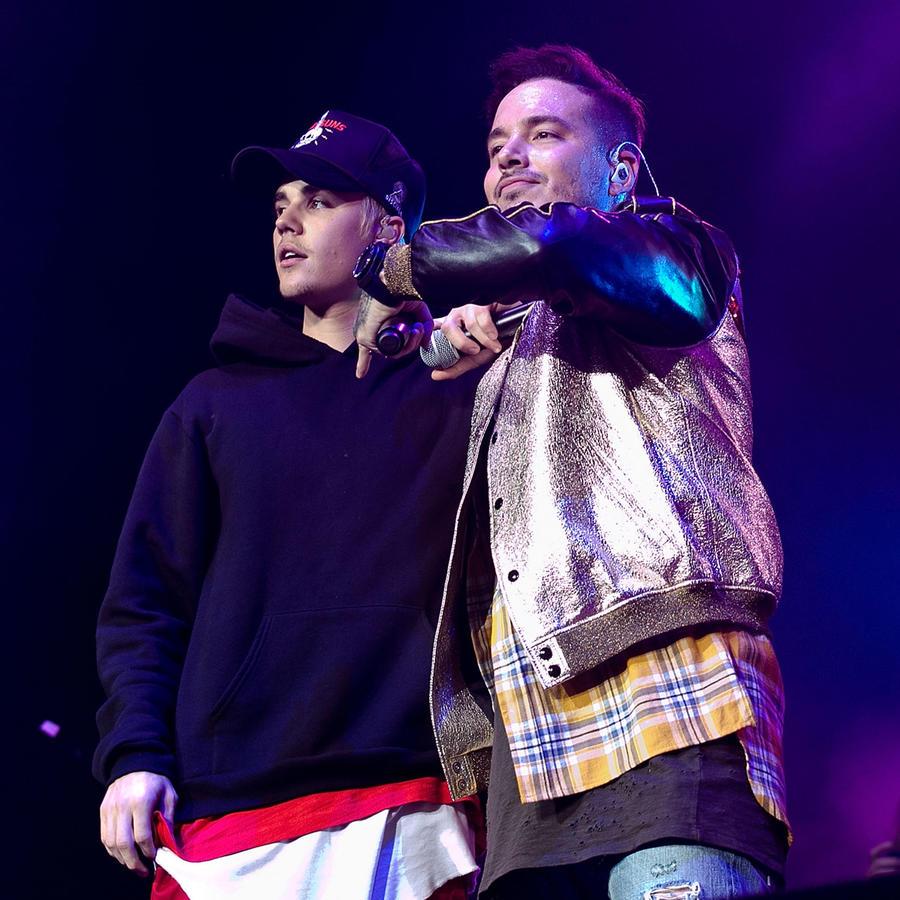 J Balvin y Justin Bieber