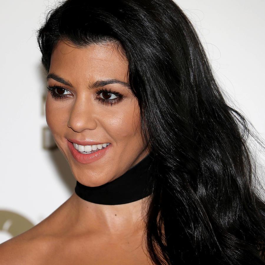 Kourtney Kardashian en el evento Wwd Variety Inaugural Stylemakers
