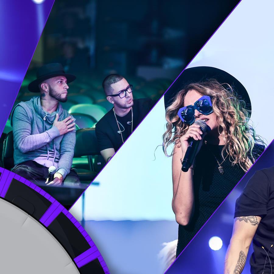 Segundo día de ensayos Premios Billboard 2016