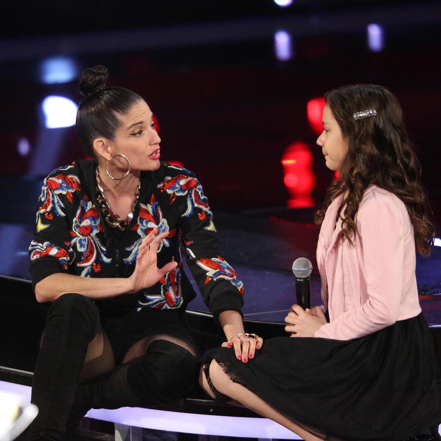 Natalia Jiménez y Alyssa Audiciones a Ciegas 2016