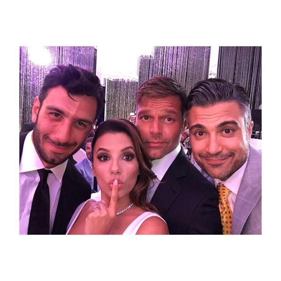 Eva Longoria, Ricky Martin, Jaime Camil