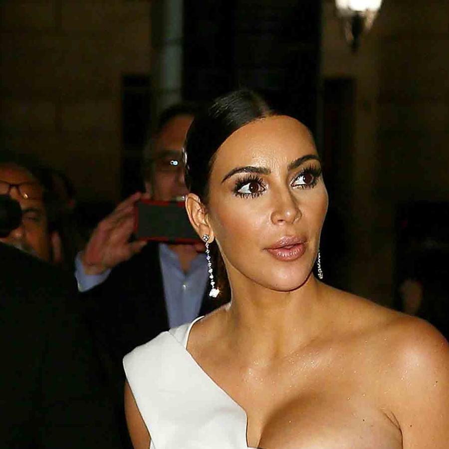 Kim Kardashian y Kanye West en Roma