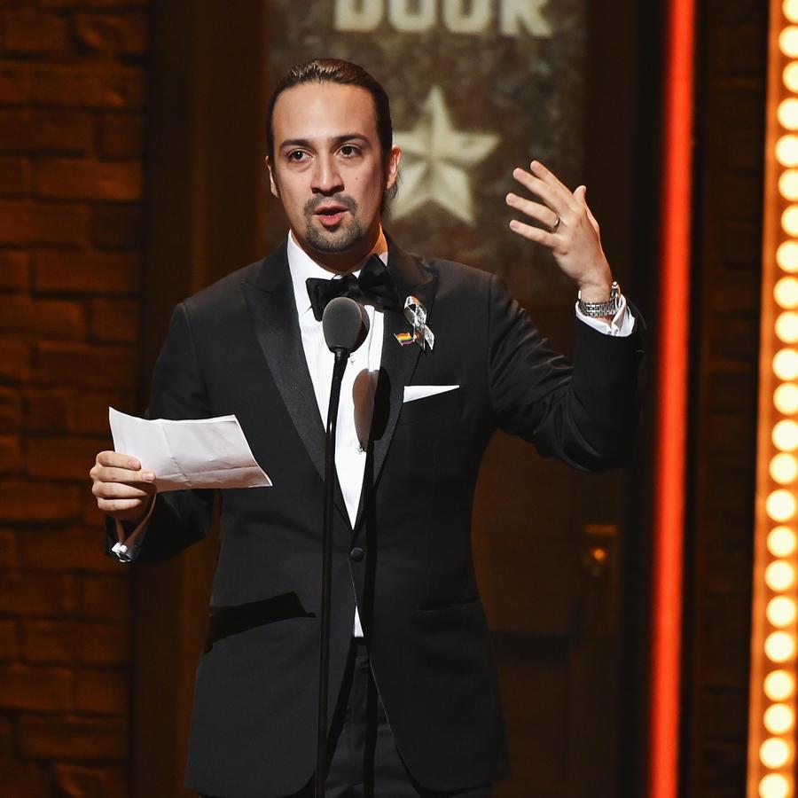 Lin-Manuel Miranda 2016 Tony Awards - Show