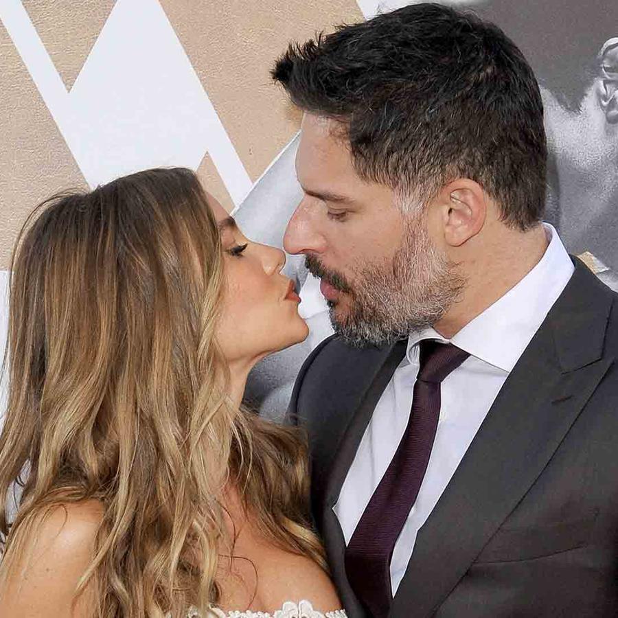 Sofía Vergara y Joe Manganiello en el estreno de Magic Mike XXL