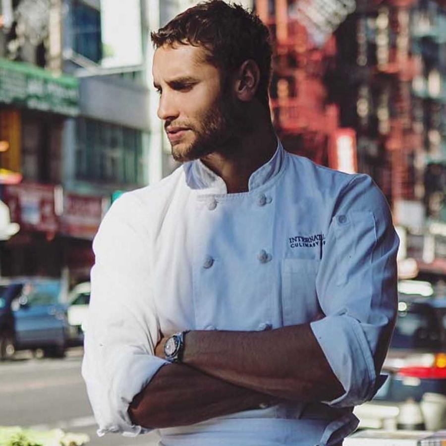 Franco Noriega es el chef más atractivo de Nueva York