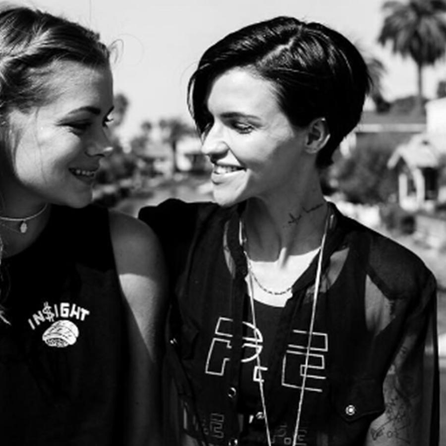 Ruby Rose y Harley Gusman