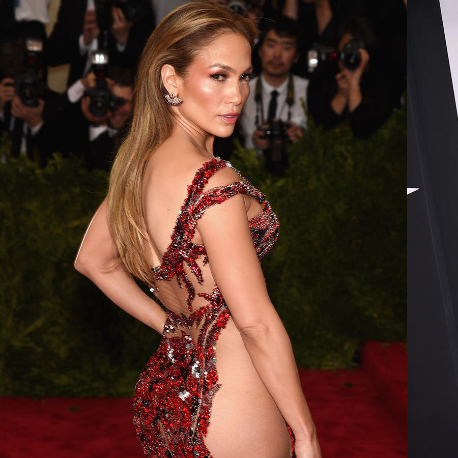 Jennifer Lopez's best almost nude moments