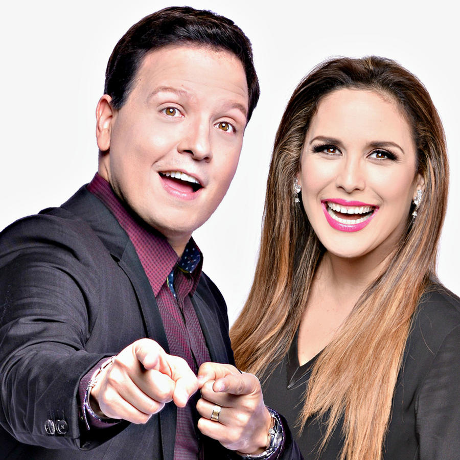 Angelica Vale y Raul Gonzalez