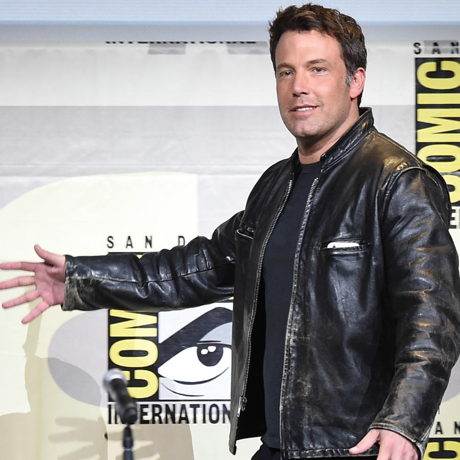 Ben Affleck en el Comic-Con International 2016