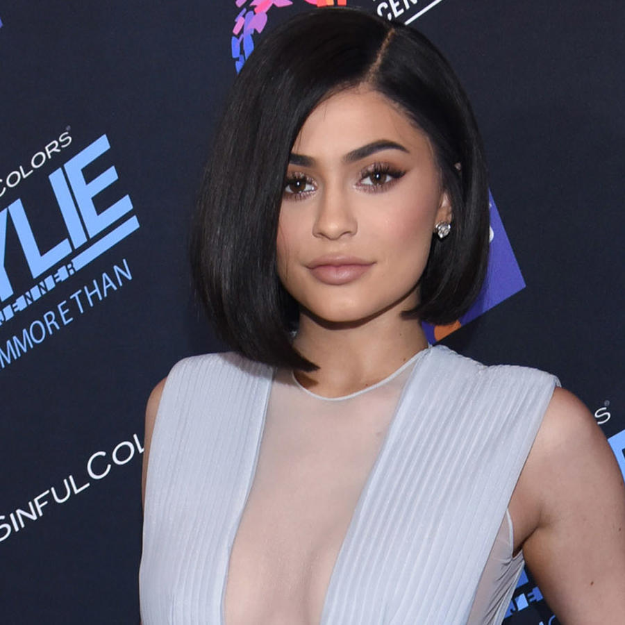 Kylie Jenner en un evento anti bullying