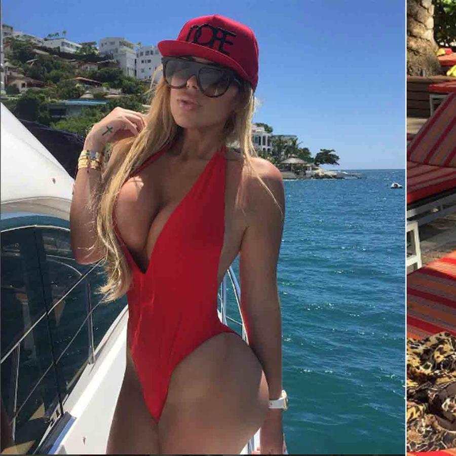 Alejandra de la Fuente en bikini