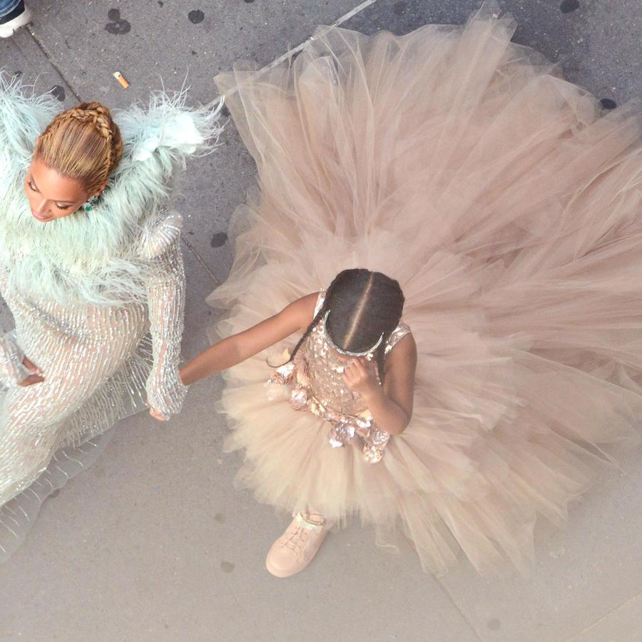 Beyonce y Blue Ivy en los MTV Video Music Awards 2016