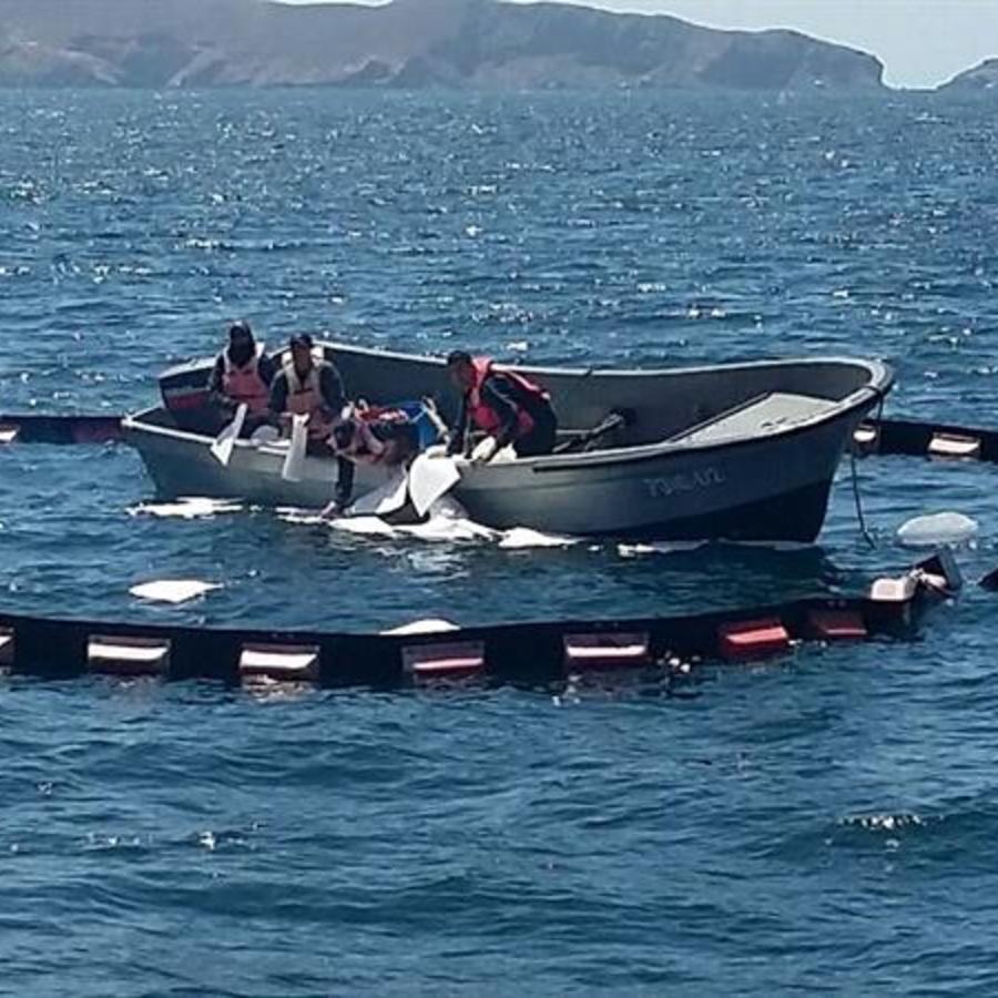 Autoridades mexicanas atienden naufragio de embarcación pesquera de EE.UU.