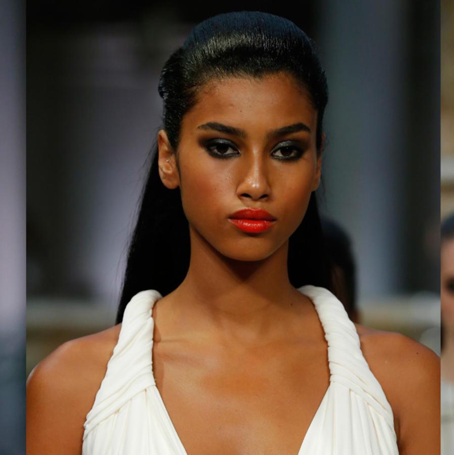 Modelos en el desfile de Carolina Herrera en NYFW 2016