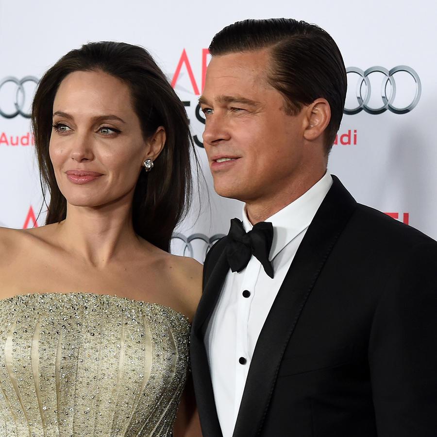 Angelina Jolie y Brad Pitt vestidos de gala