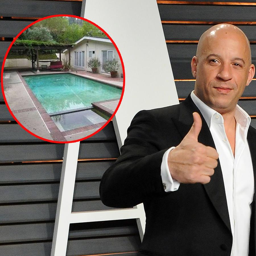 Vin Diesel pone en venta la primera casa que compró en Hollywood