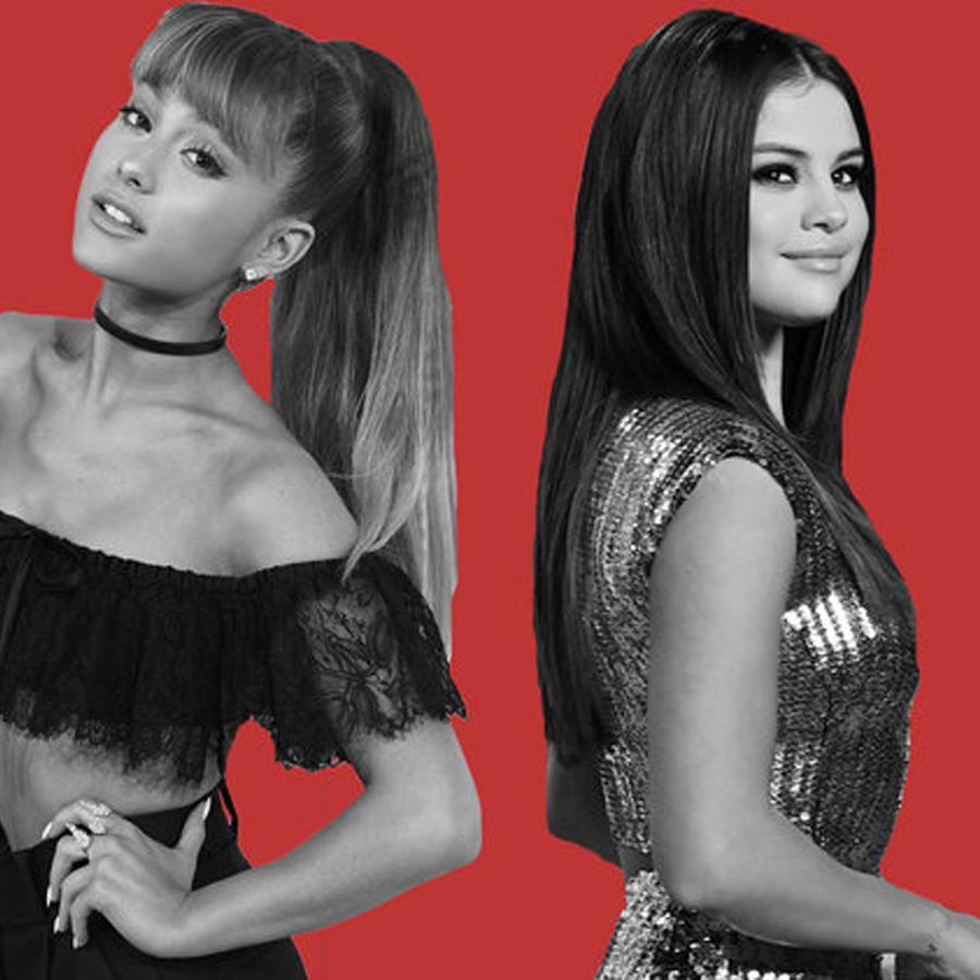 Ariana Grande y Selena Gomez