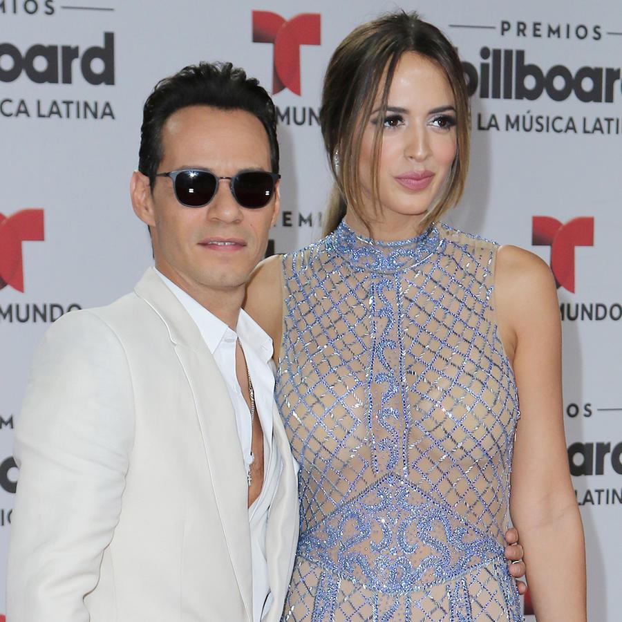 Marc Anthony y Shannon de Lima