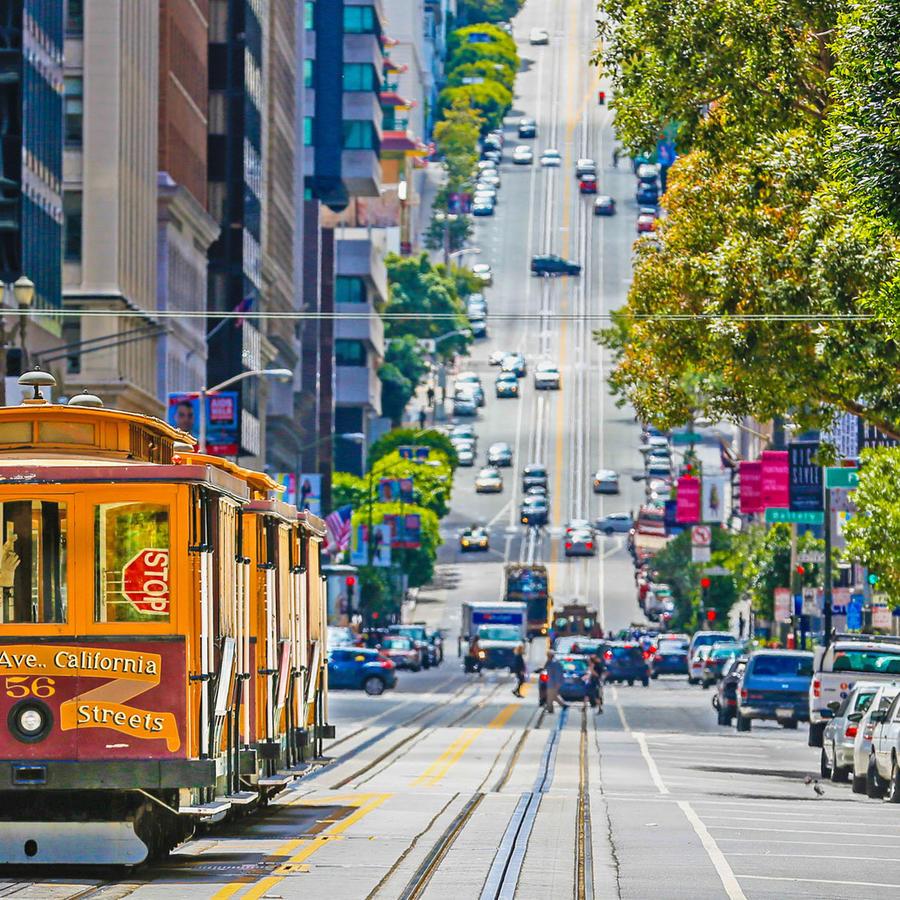 Tranvía en San Francisco, California