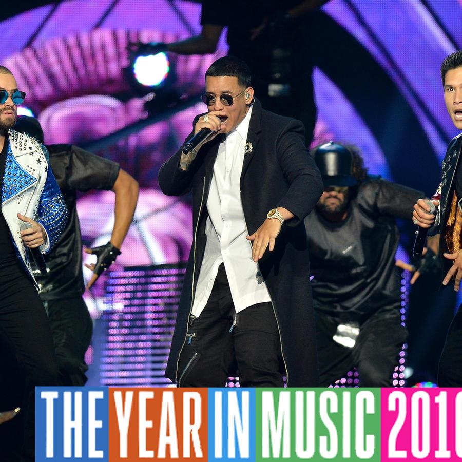 Daddy Yankee y Chino & Nacho en Premios Tu Mundo.