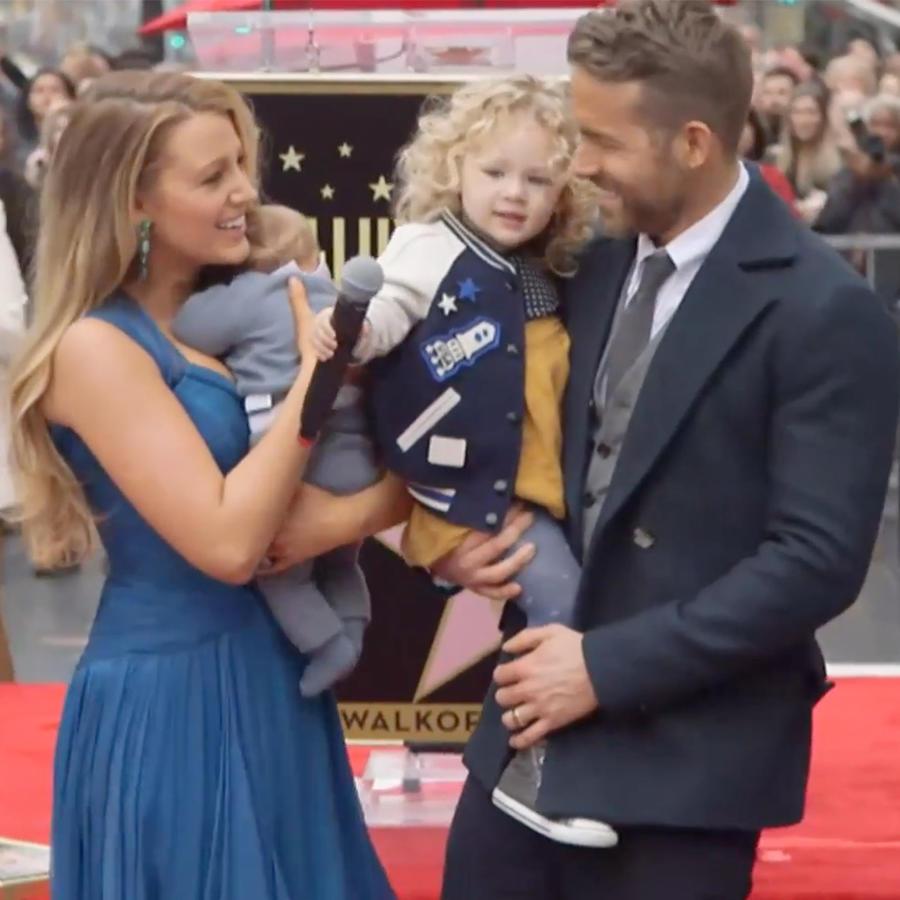 Ryan Reynolds y Blake Lively presentan a sus dos hijas por primera vez en público